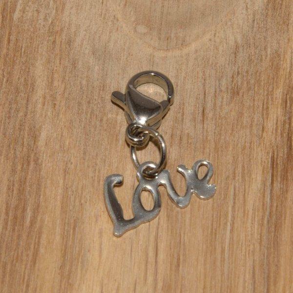 Charm Edelstahl - Love-1