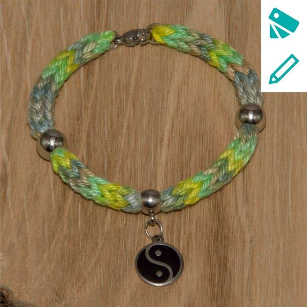 Strickarmband Yin&Yang-2